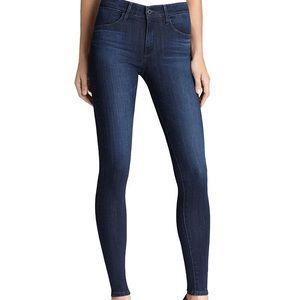 AG The High Rise Farrah Skinny Jeans Brooks W 24